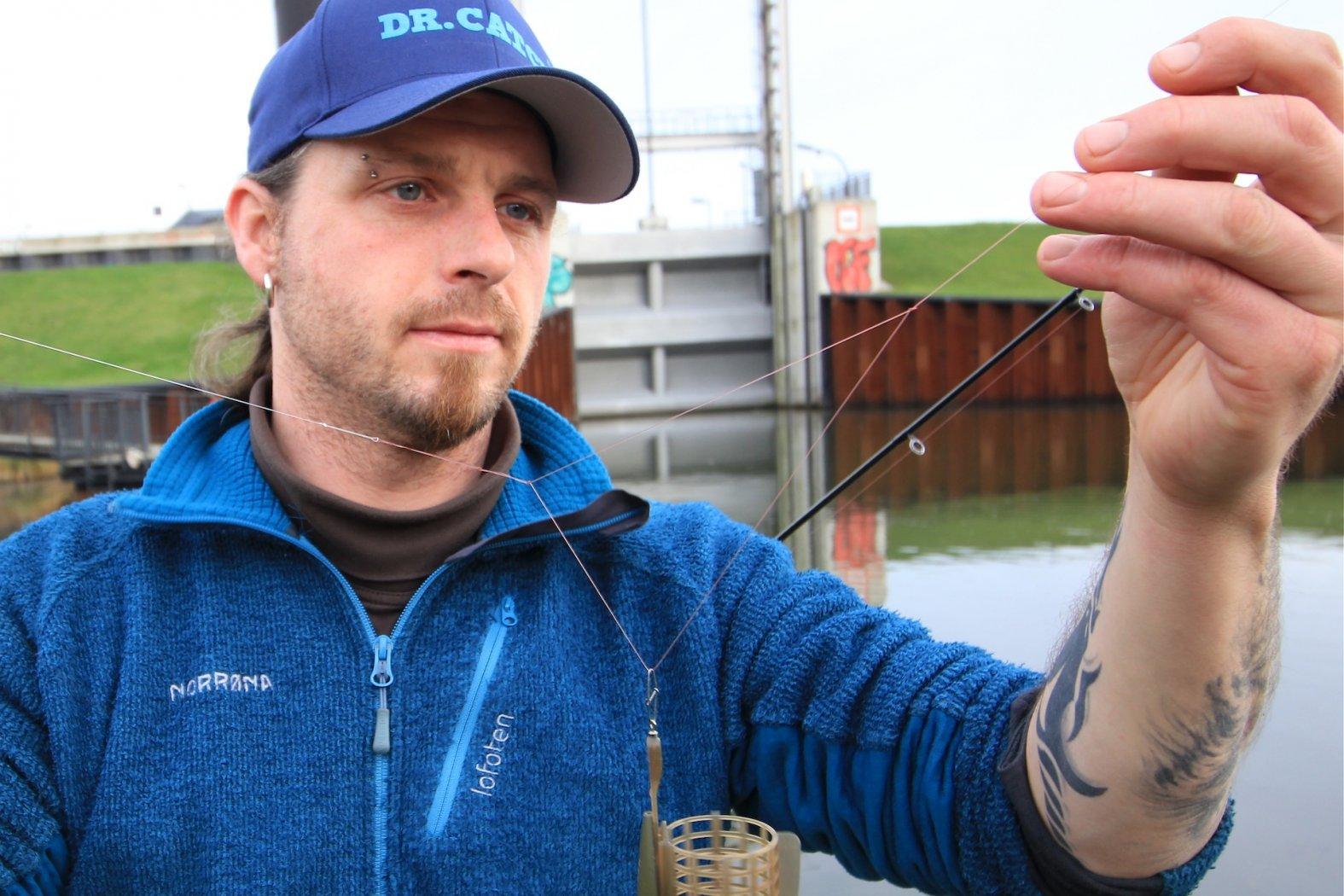 Feederfischen mit Schlaufenmontage