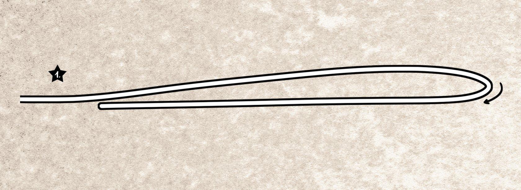 Schlaufenknoten zum Angeln