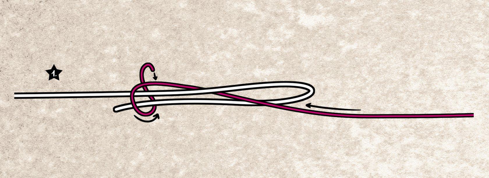 Wir binden den Albright-Knoten