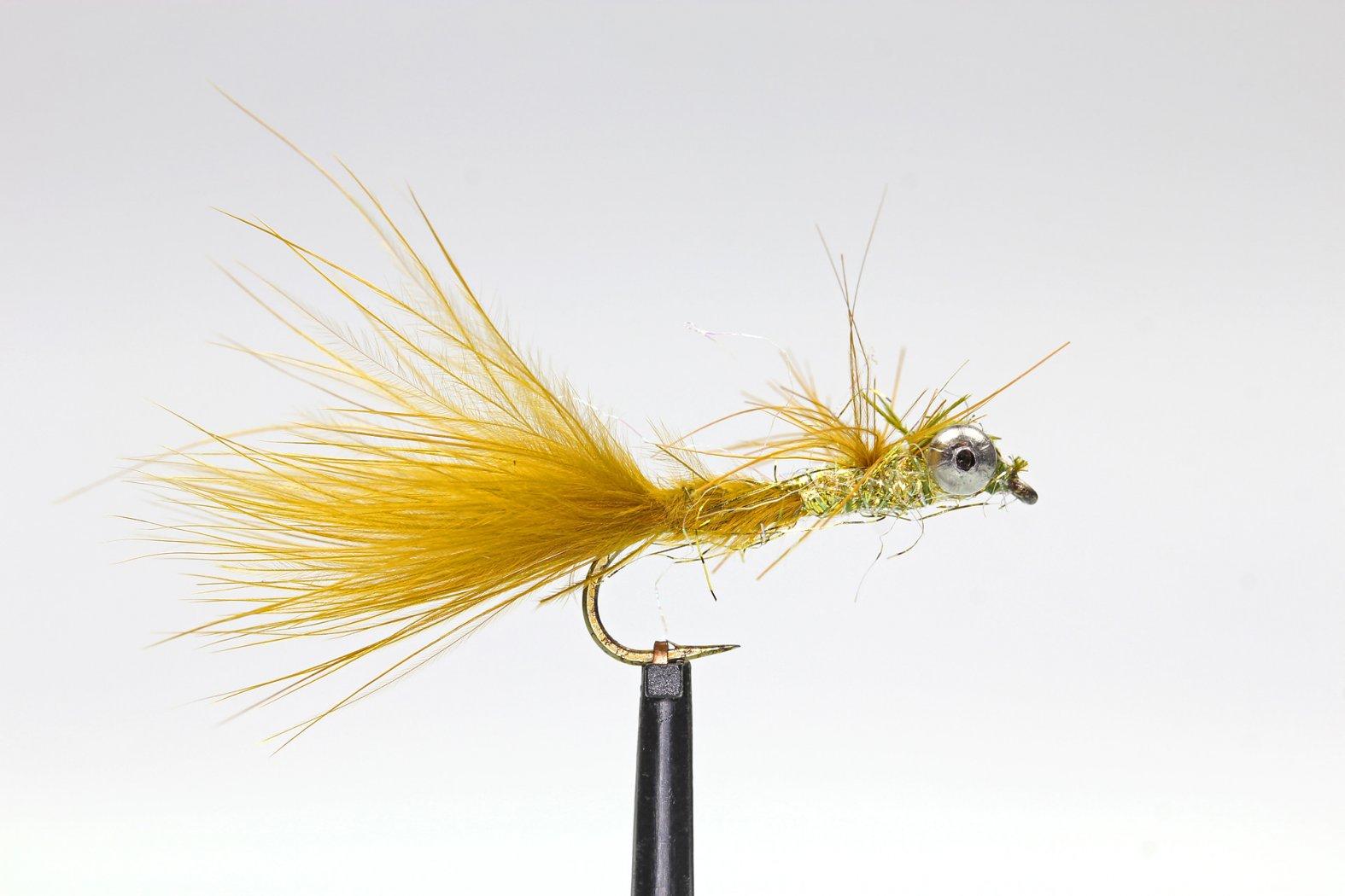Fliegenmuster Libellenlarve
