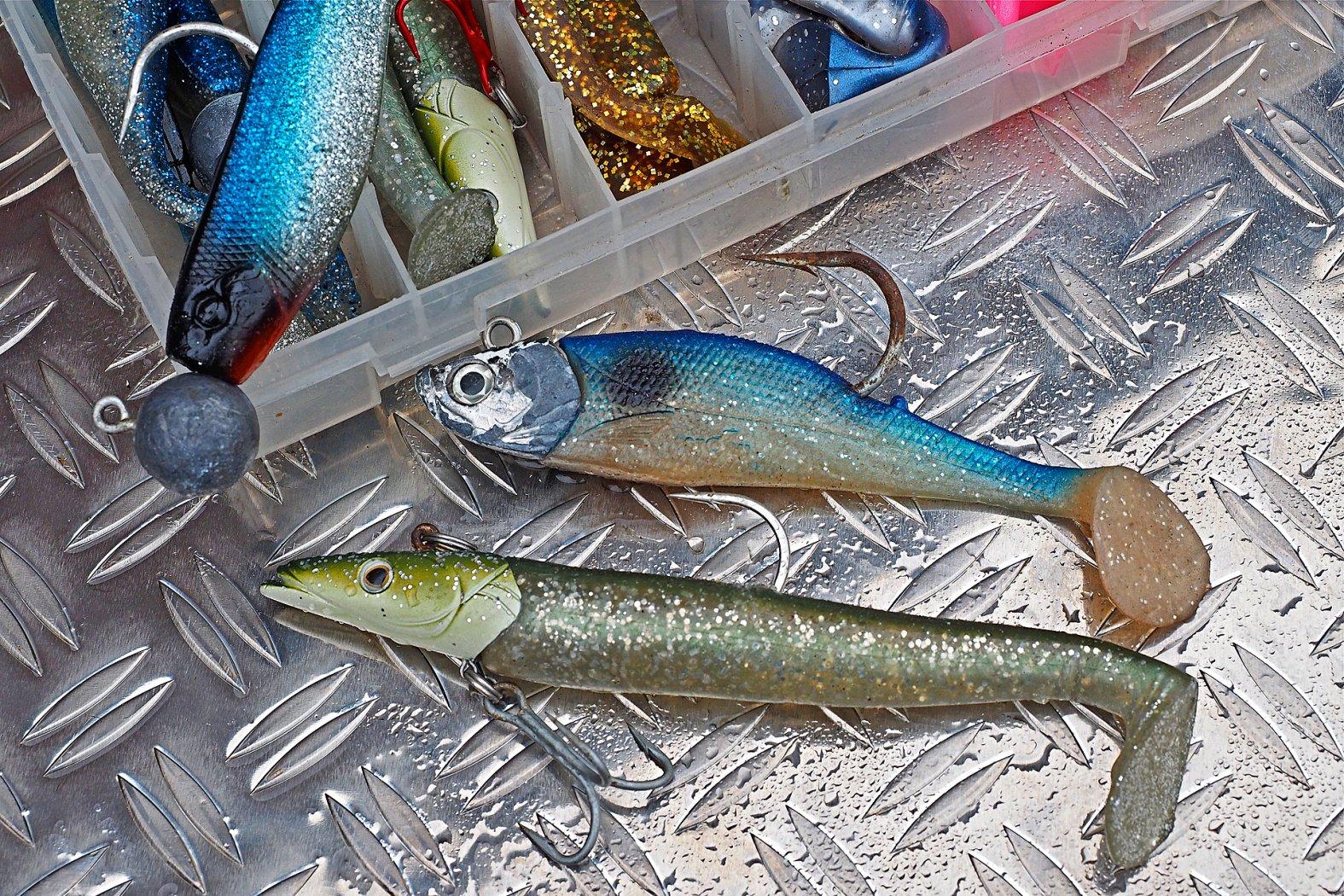 Gummifische zu Köhler angeln