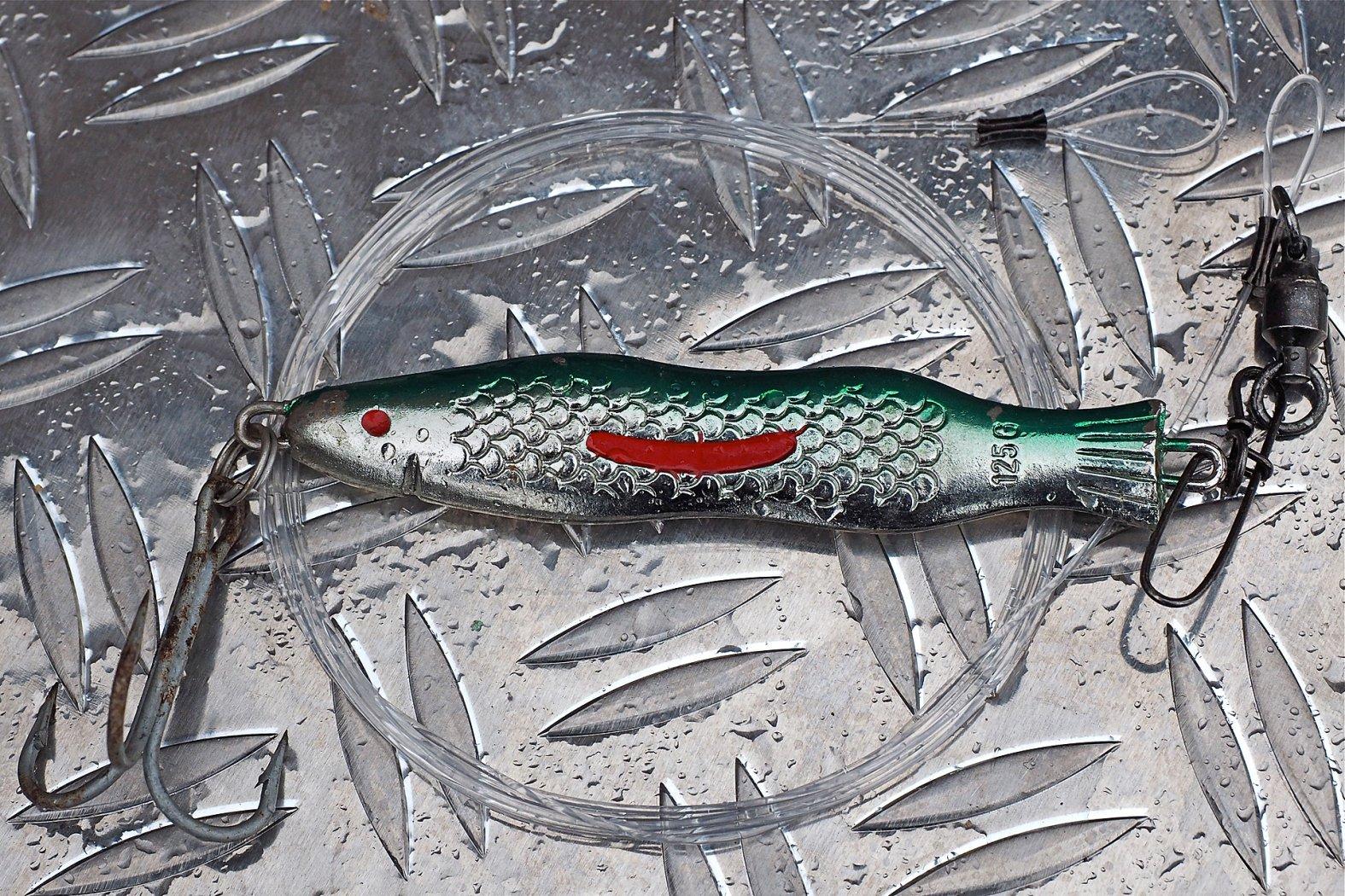 Vorfach zum Seelachs angeln