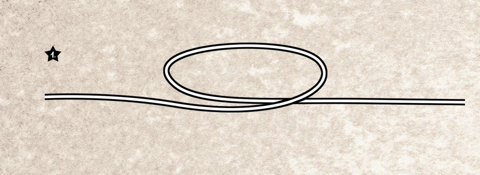 Springerknoten binden