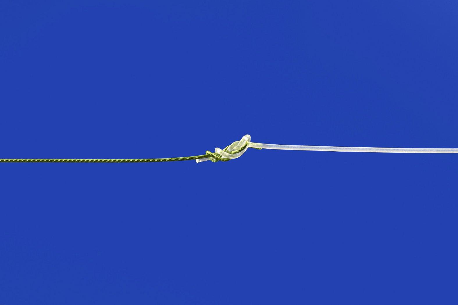 chiriugenknoten zum stahlvorfach anknüpfen
