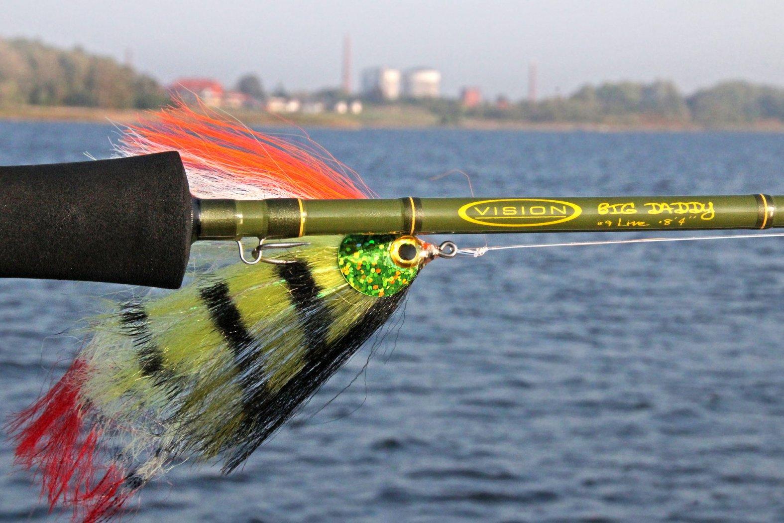 fliegenrute hecht fliegenfischen rute