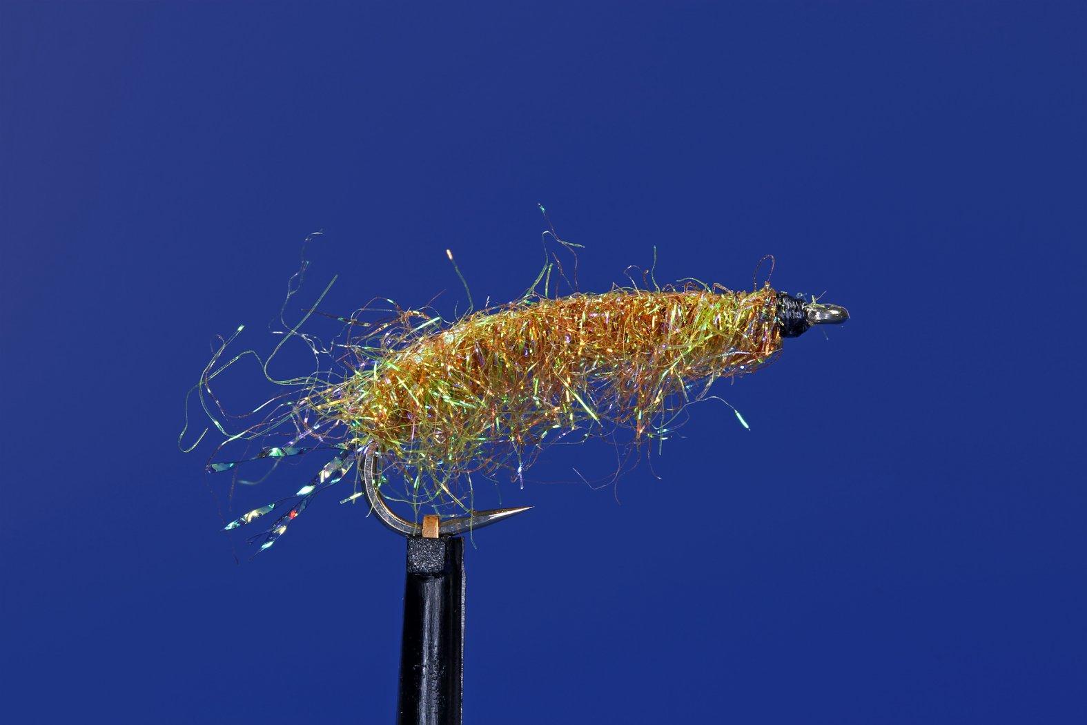 gammarus flohkrebs zum fliegenfischen auf hornhecht