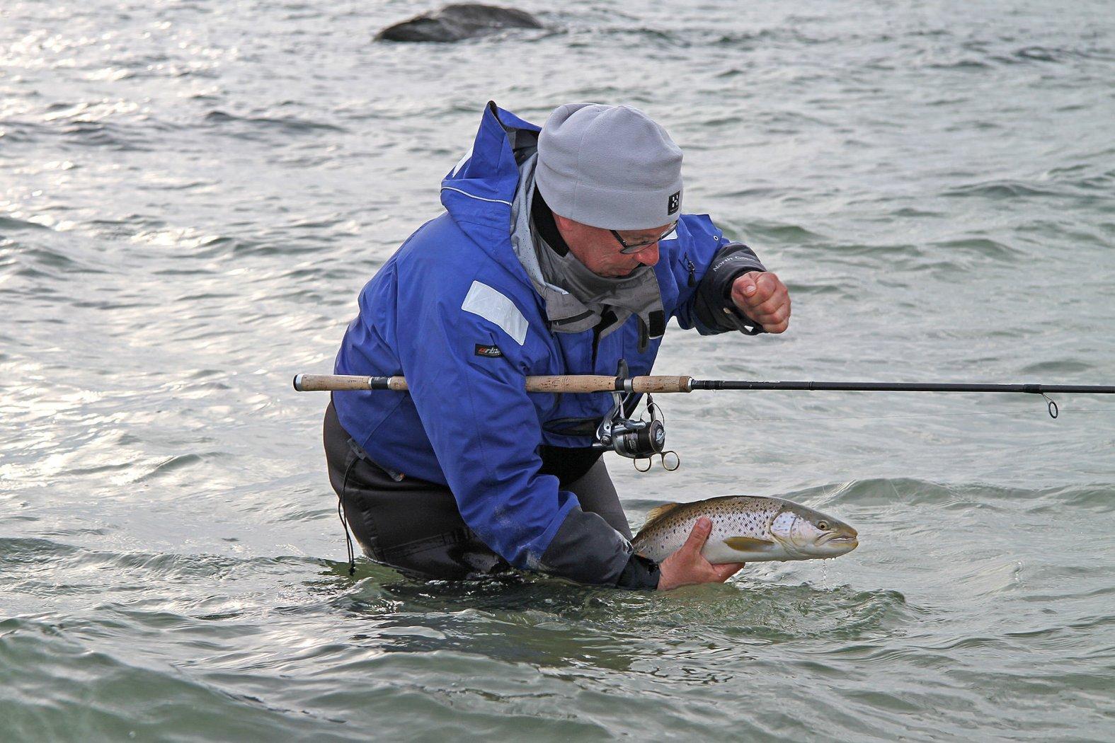 meerforellen fischen mit sbirolino