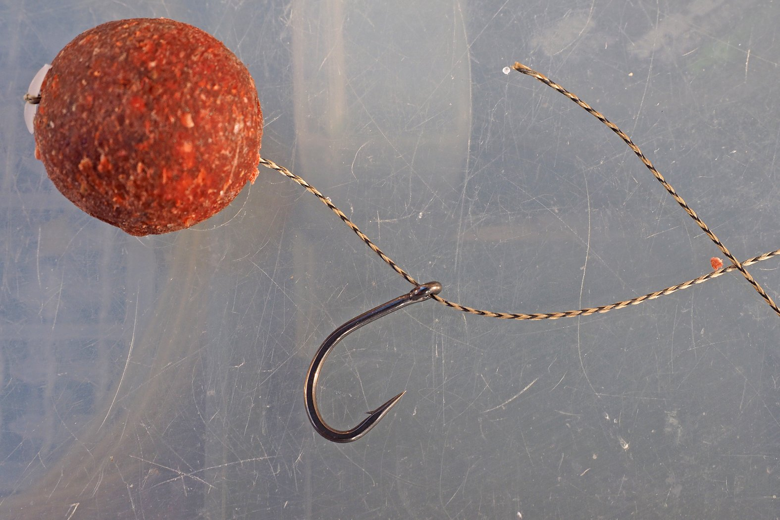 Knotless Knot Rig binden