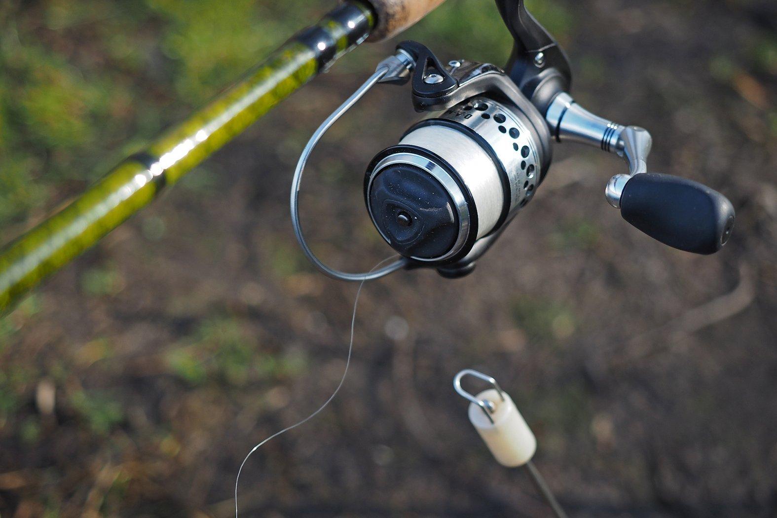 Mit offener Rolle angeln