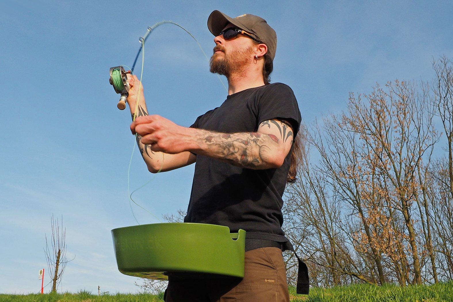 Mit Streamer auf Rapfen angeln