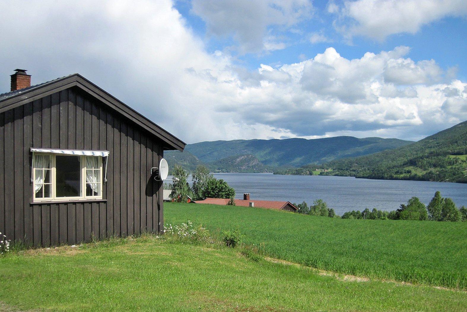 Ferienhäuser am Kröderfjord