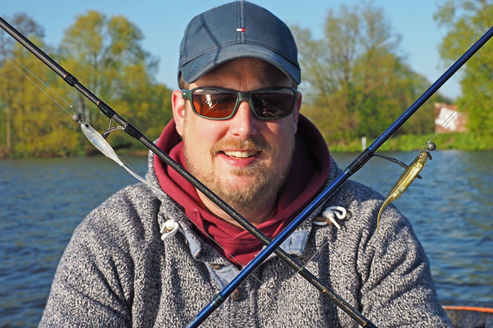 Barsche angeln mit Gummifisch