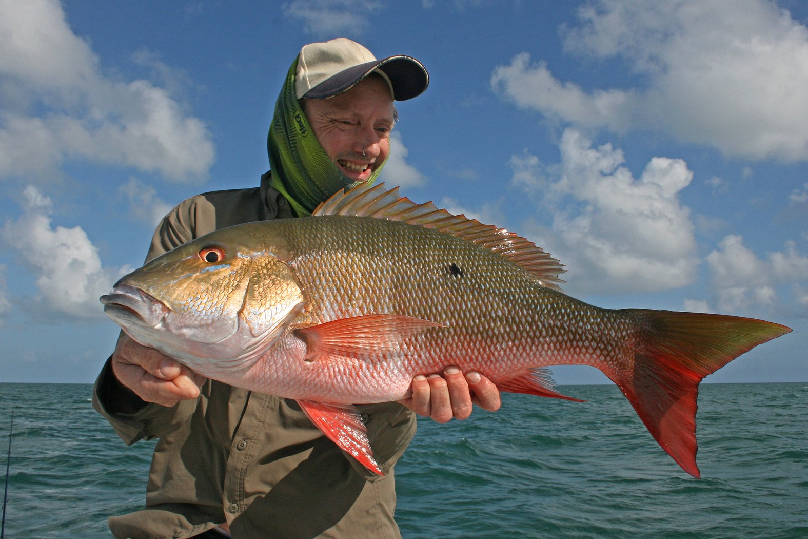 Snapper angeln Kuba