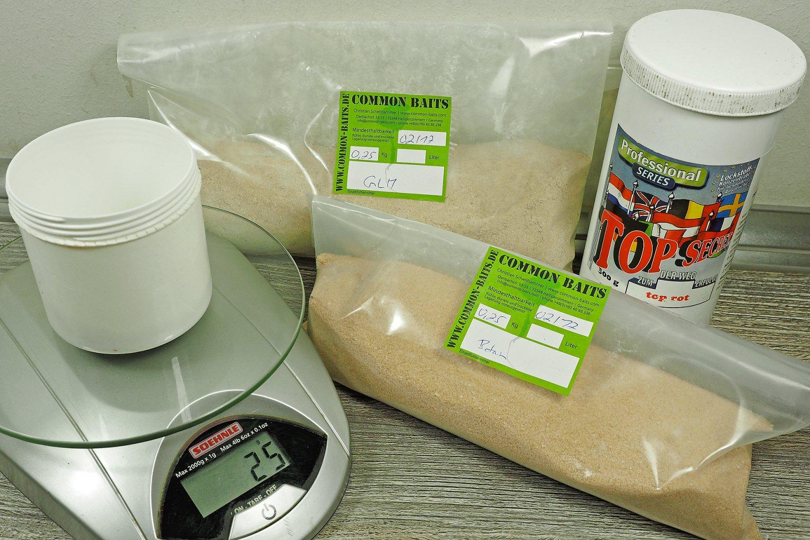 Boilie Powder Dip selber herstellen