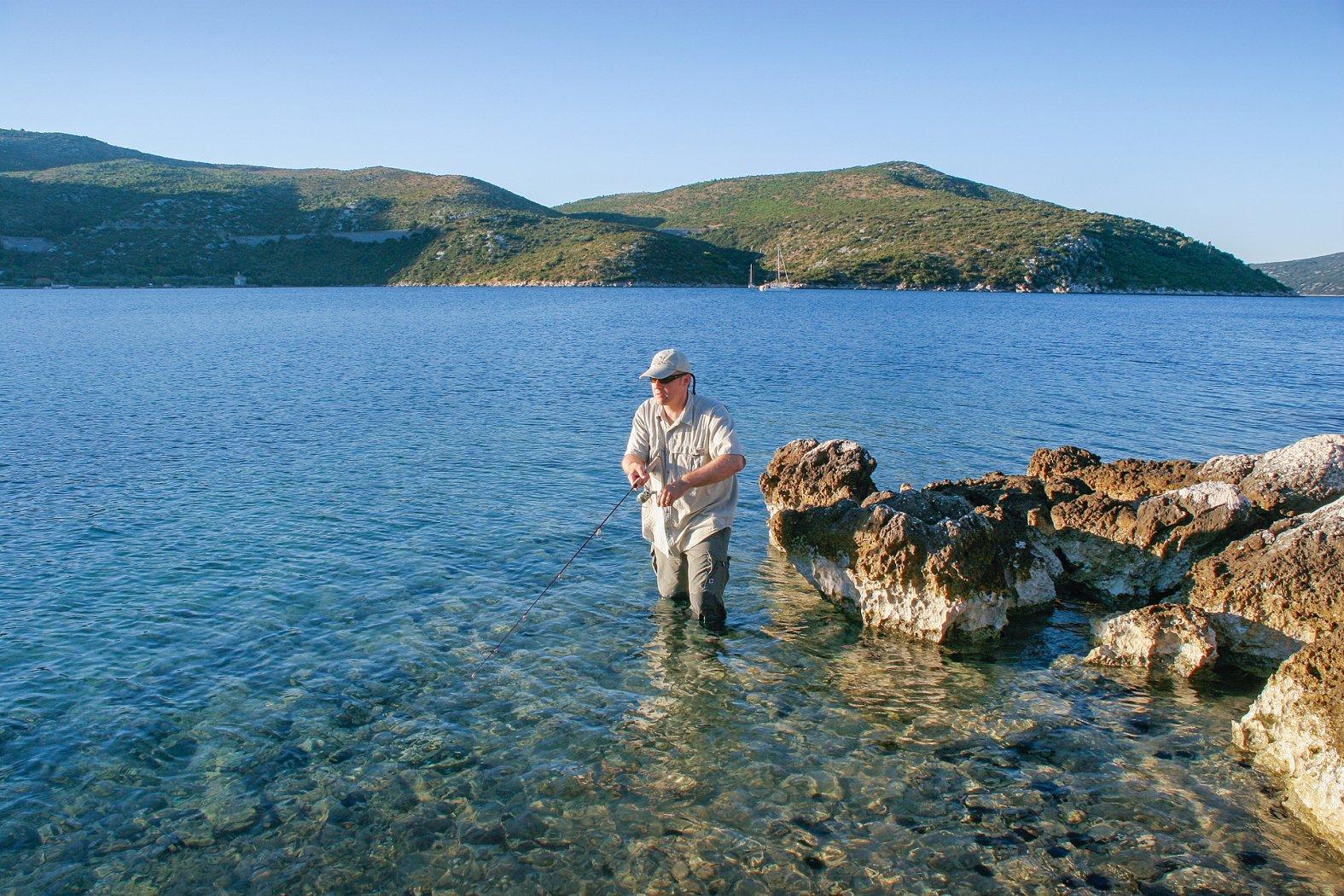 Spinnfischen am Mittelmeer