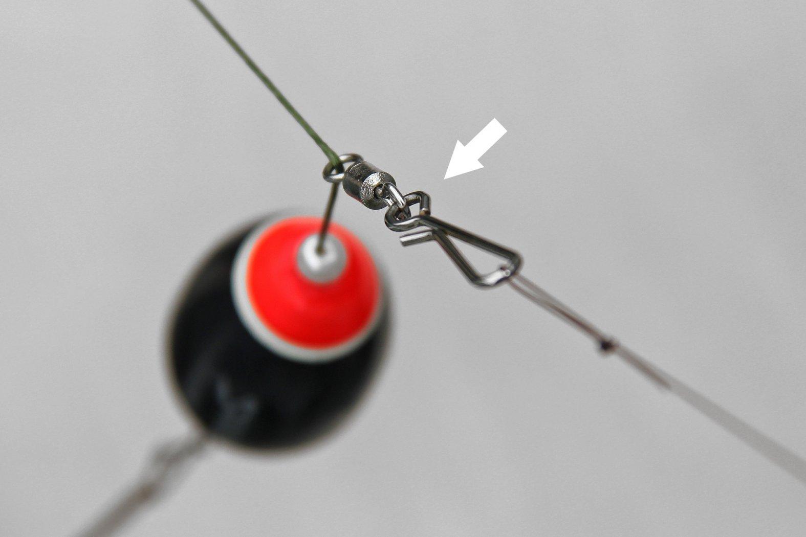 Welsangeln - Reißleinenverbindung mit Easy Clip