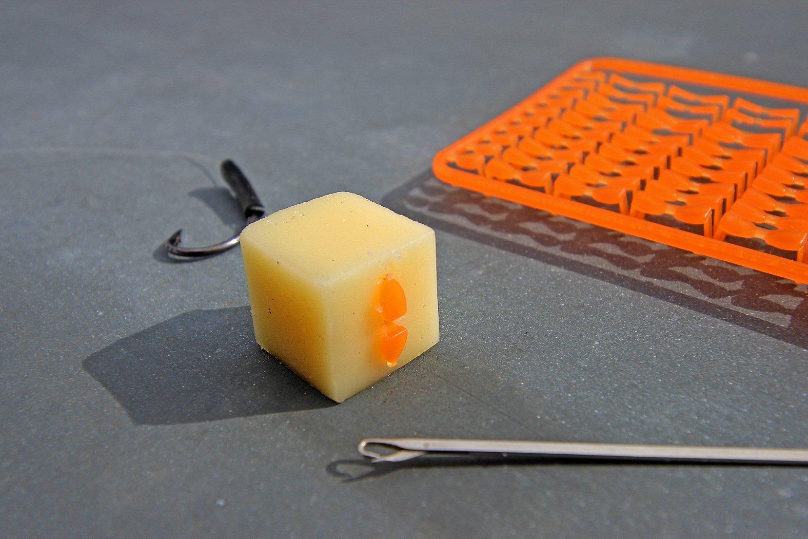 Barbenangeln: Käse am Haar