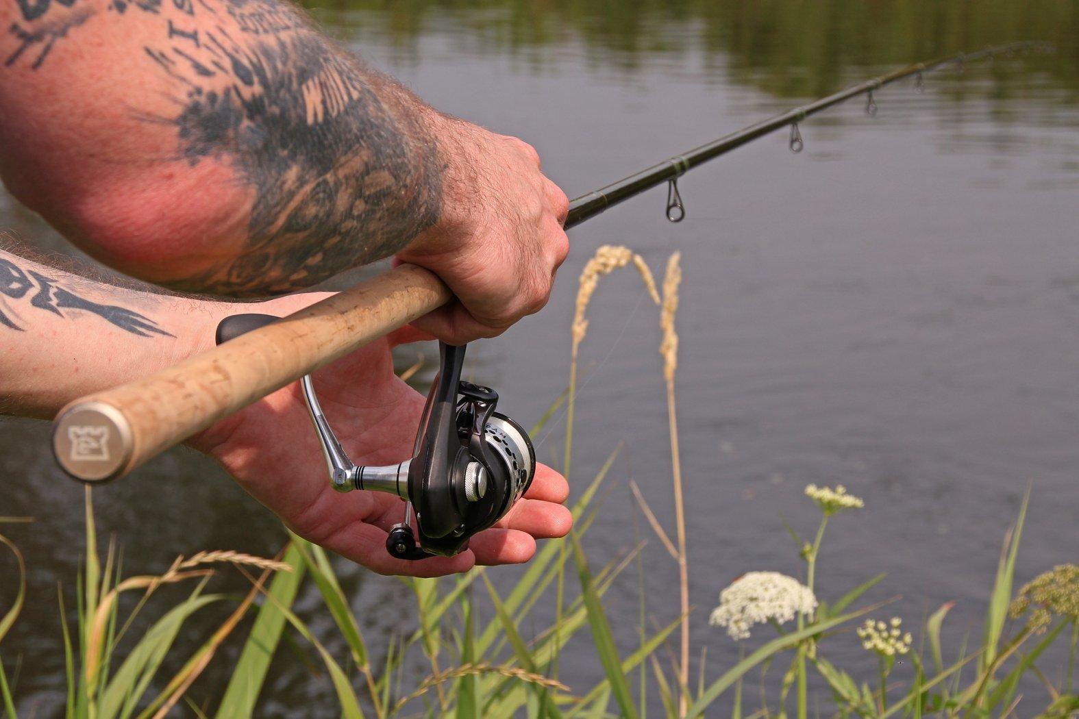 Auf Aland und Döbel angeln