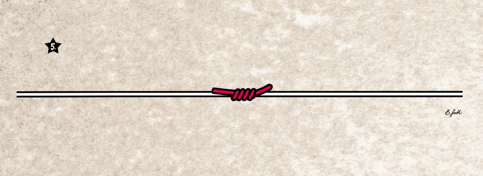 stopperknoten selber binden anleitung