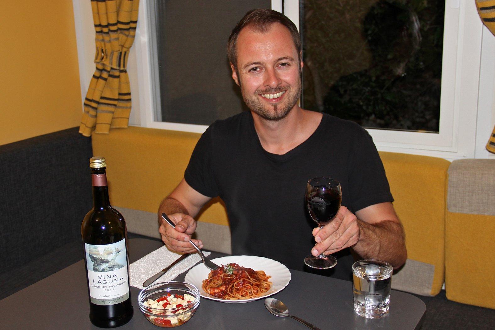 Krake kochen auf italienische Art