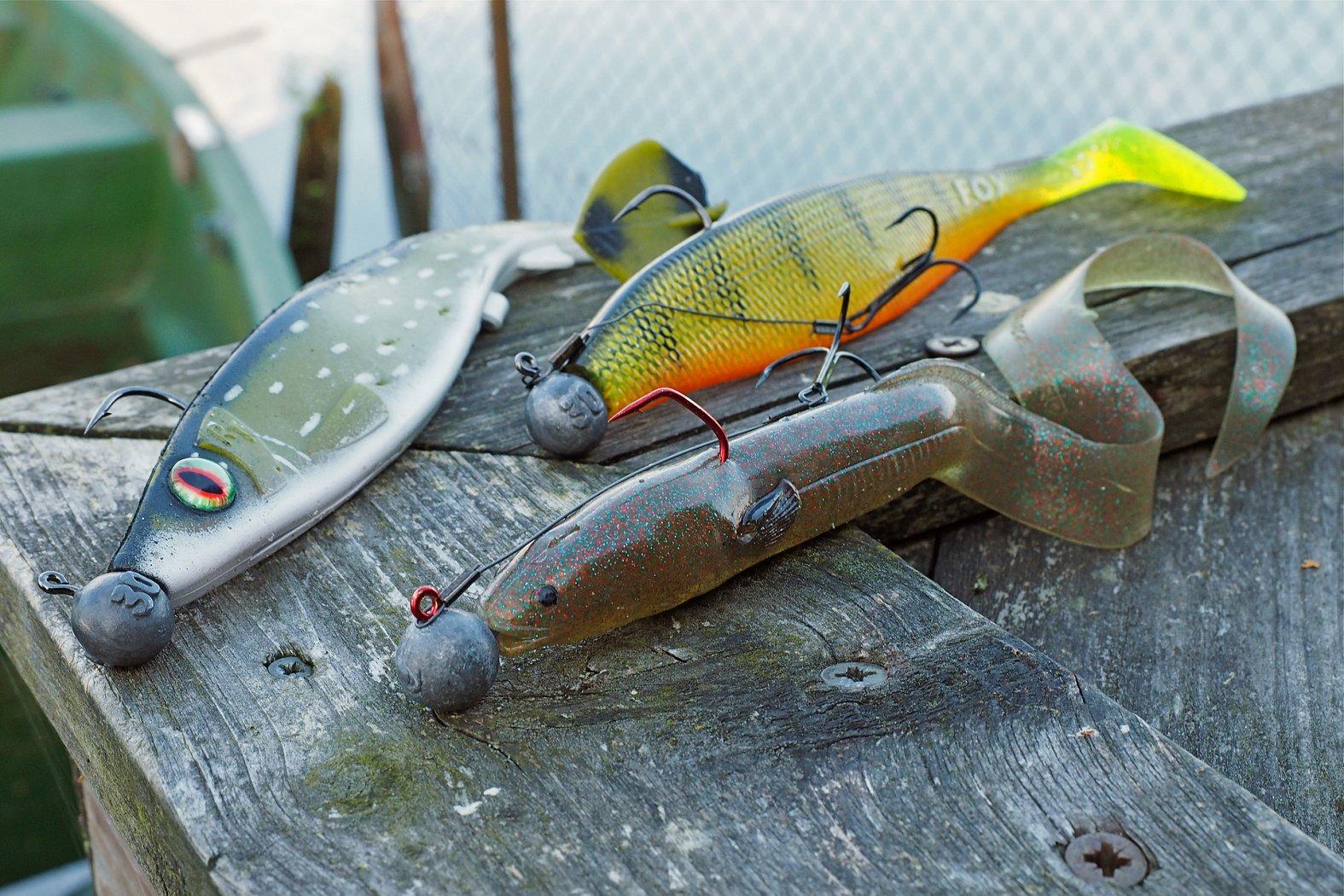 Köder zum pelagisch fischen