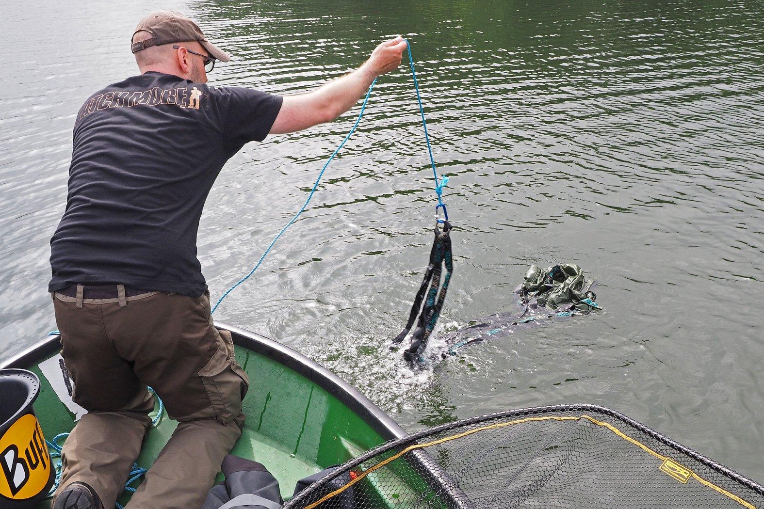 pelagisch fischen mit Driftanker