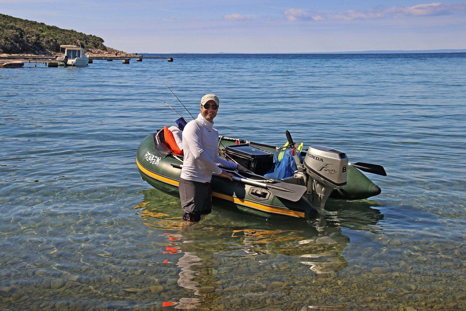Mit dem Boot in Kroatien