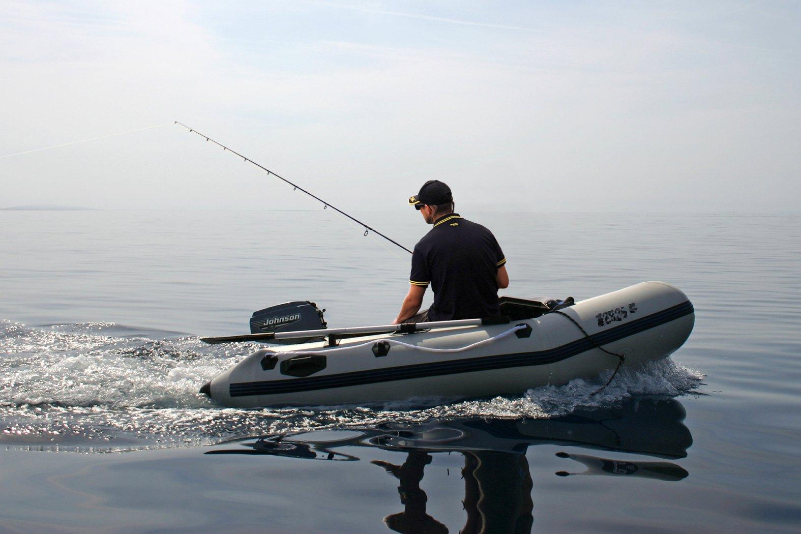 Angeln und Bootfahren in Kroatien auf der Adria