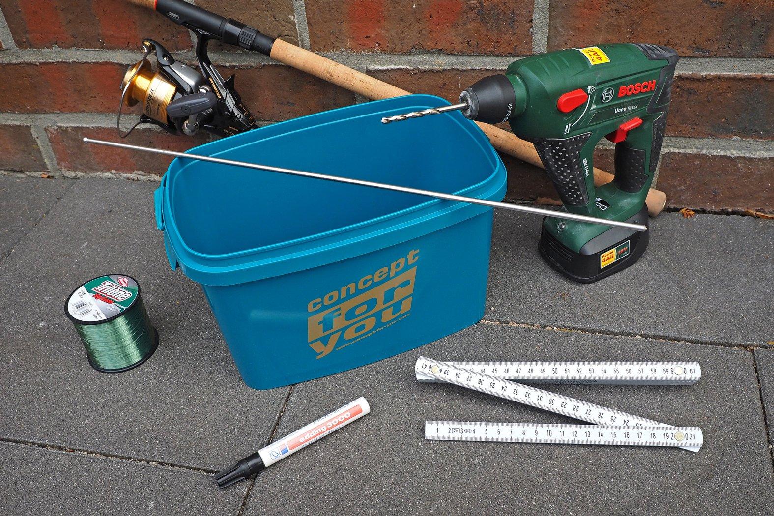 Schnuraufspulhilfe selber bauen
