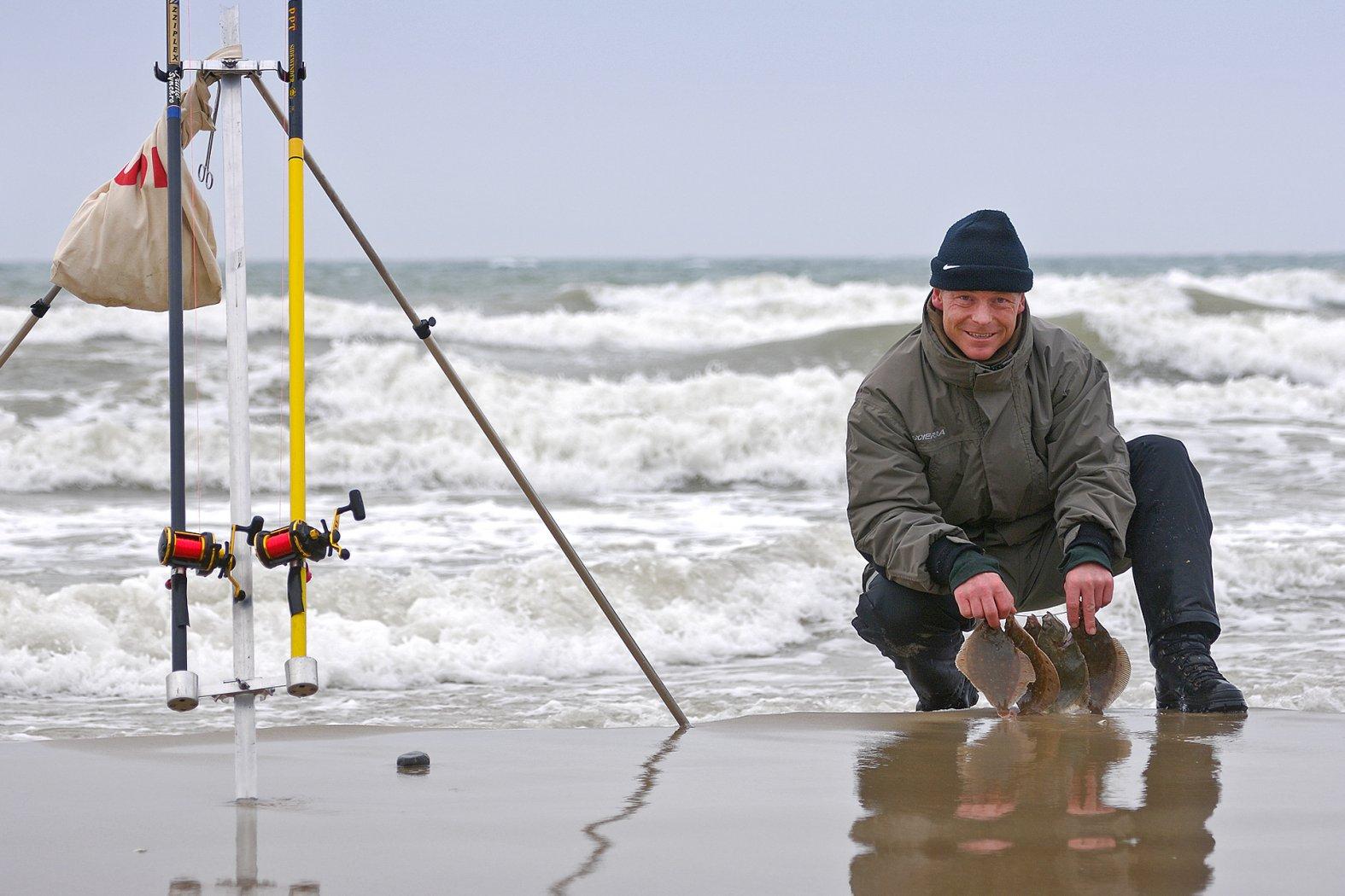 Plattfischangeln in Dänemark