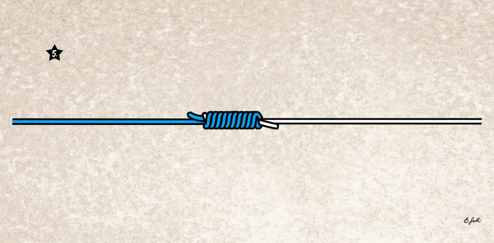 Alberto-Knoten binden