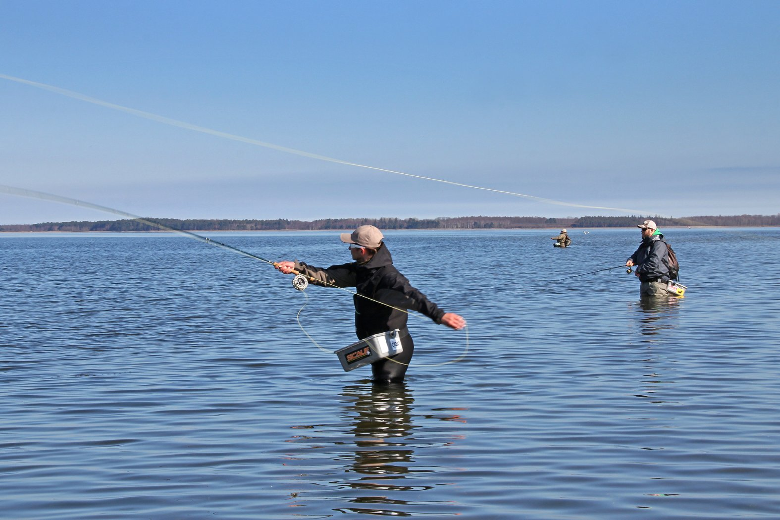 Fliegenfischen auf Hecht in Dänemark