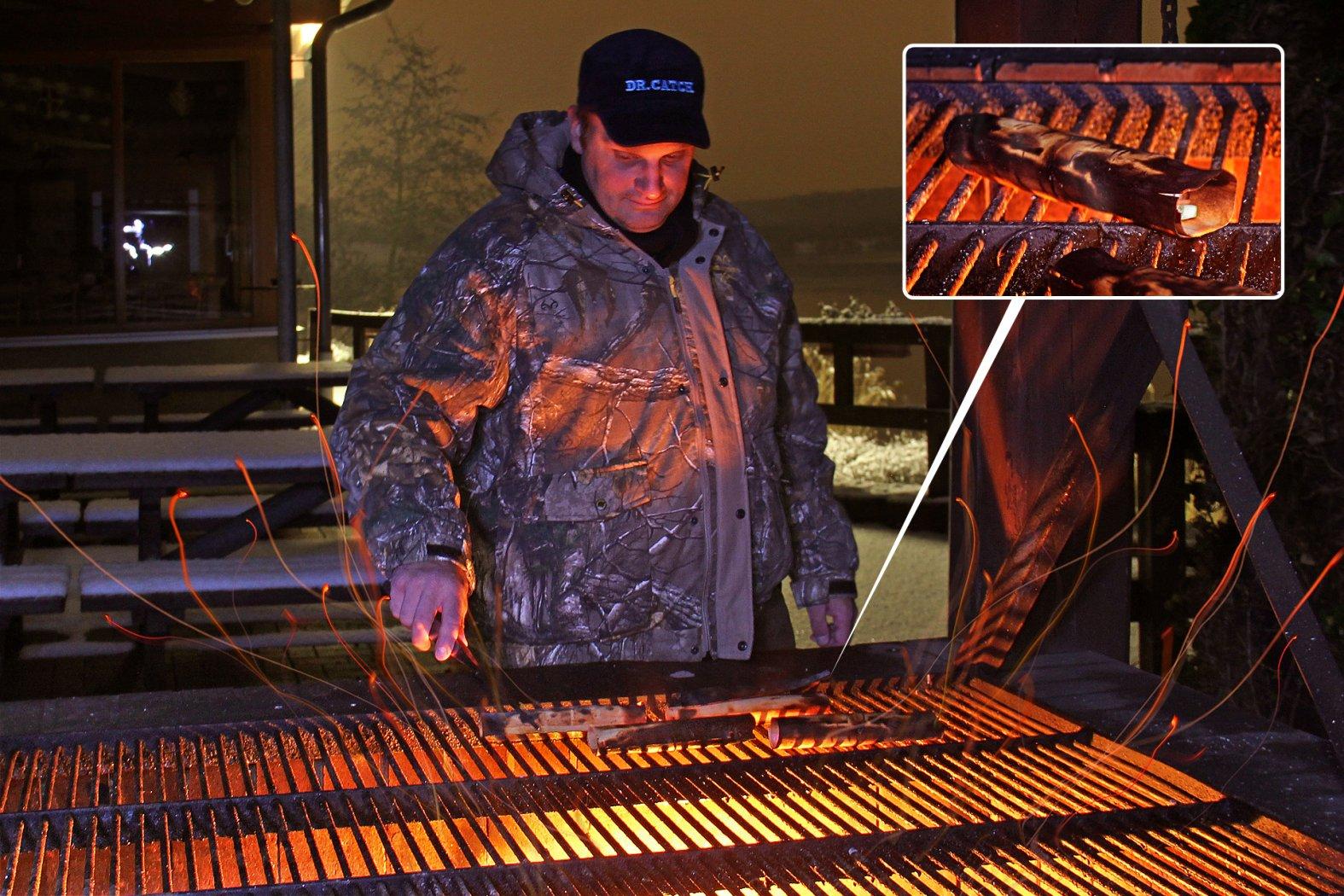 Wood Wraps: die Idee für das Grillen im Winter