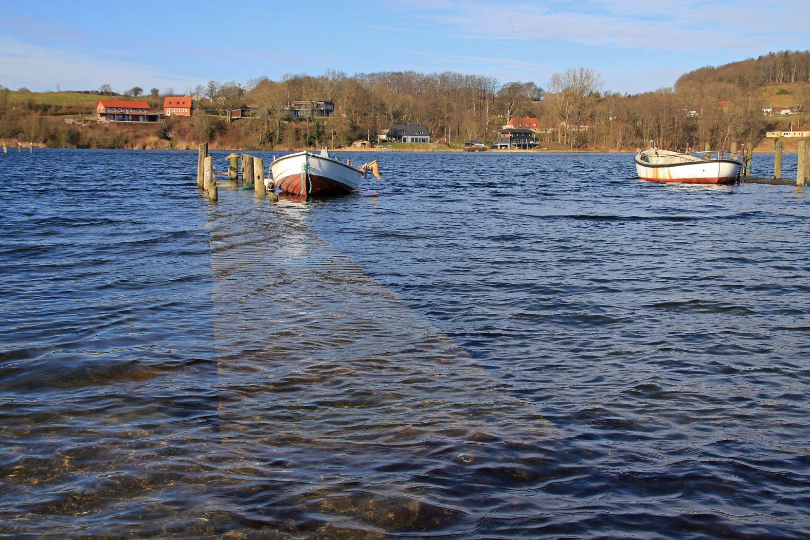 Hochwasser beim Meerforellenangeln