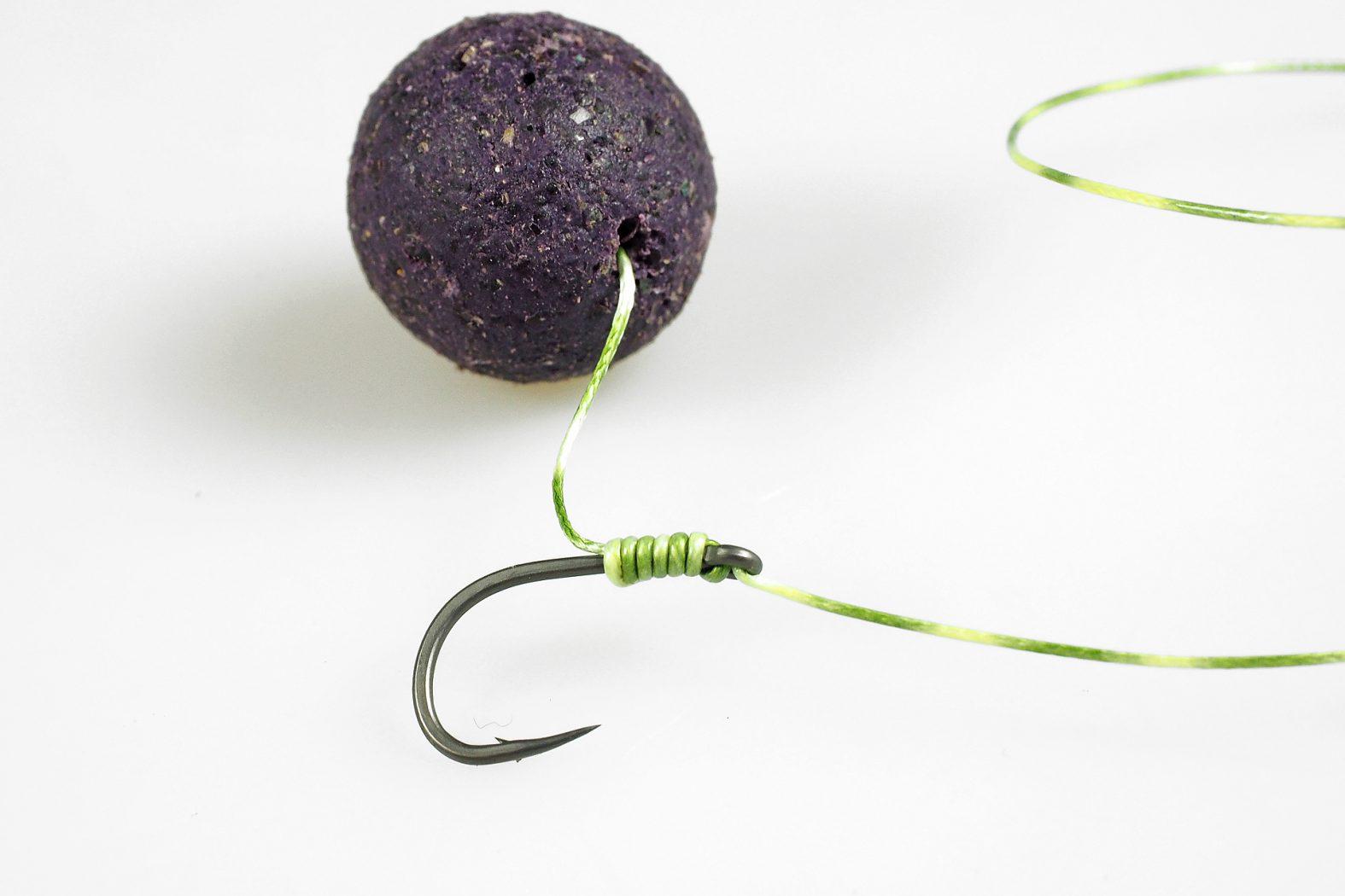 Knoten für Kombi-Rig