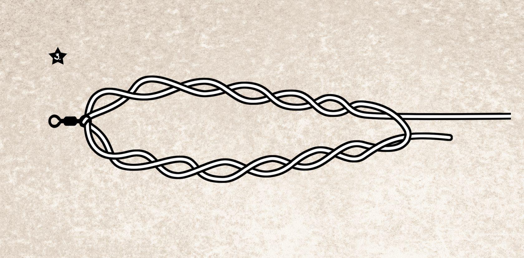Offshore Swivel Knot: der Wirbelknoten