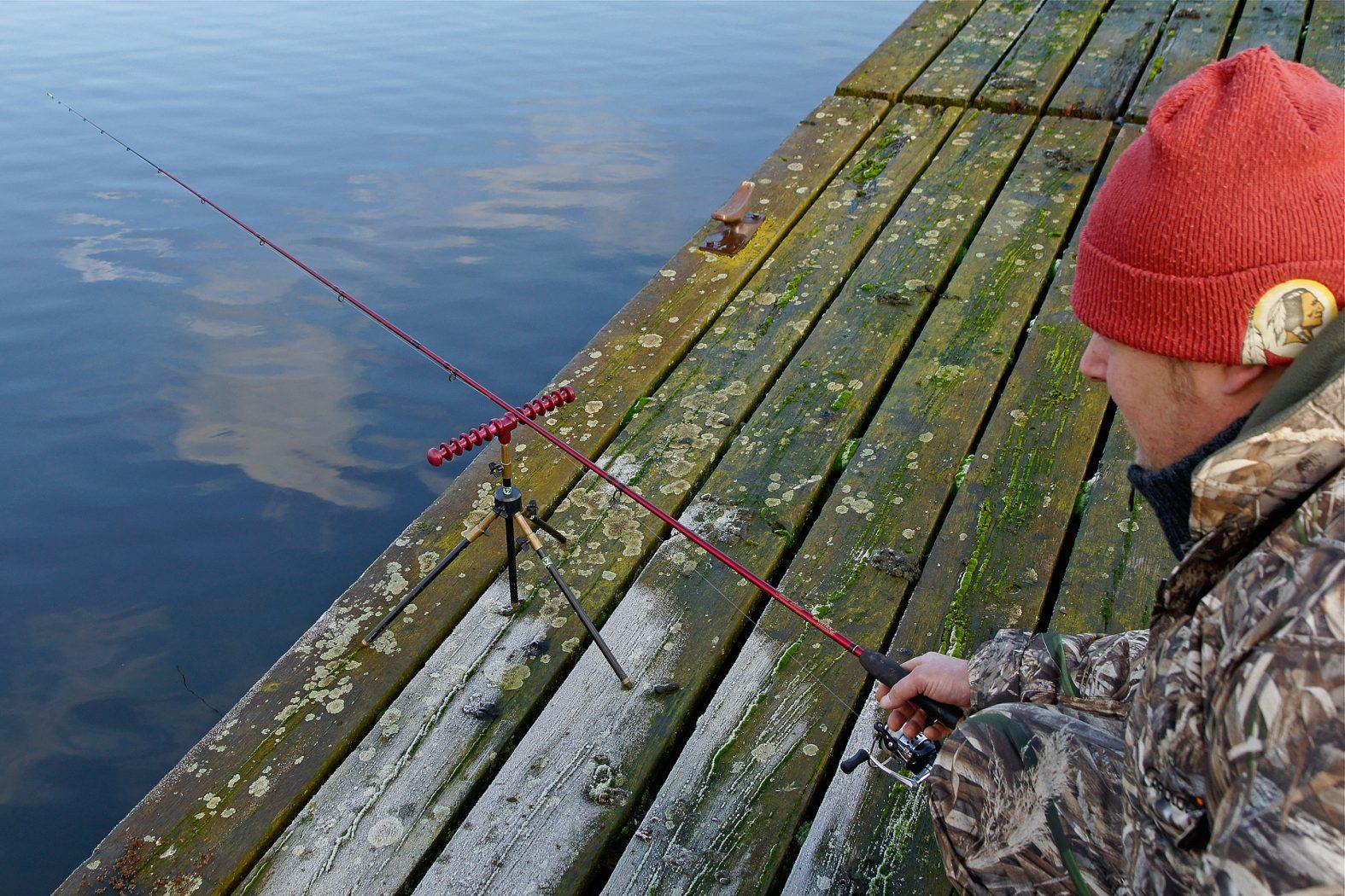 Rotaugen angeln im Winter