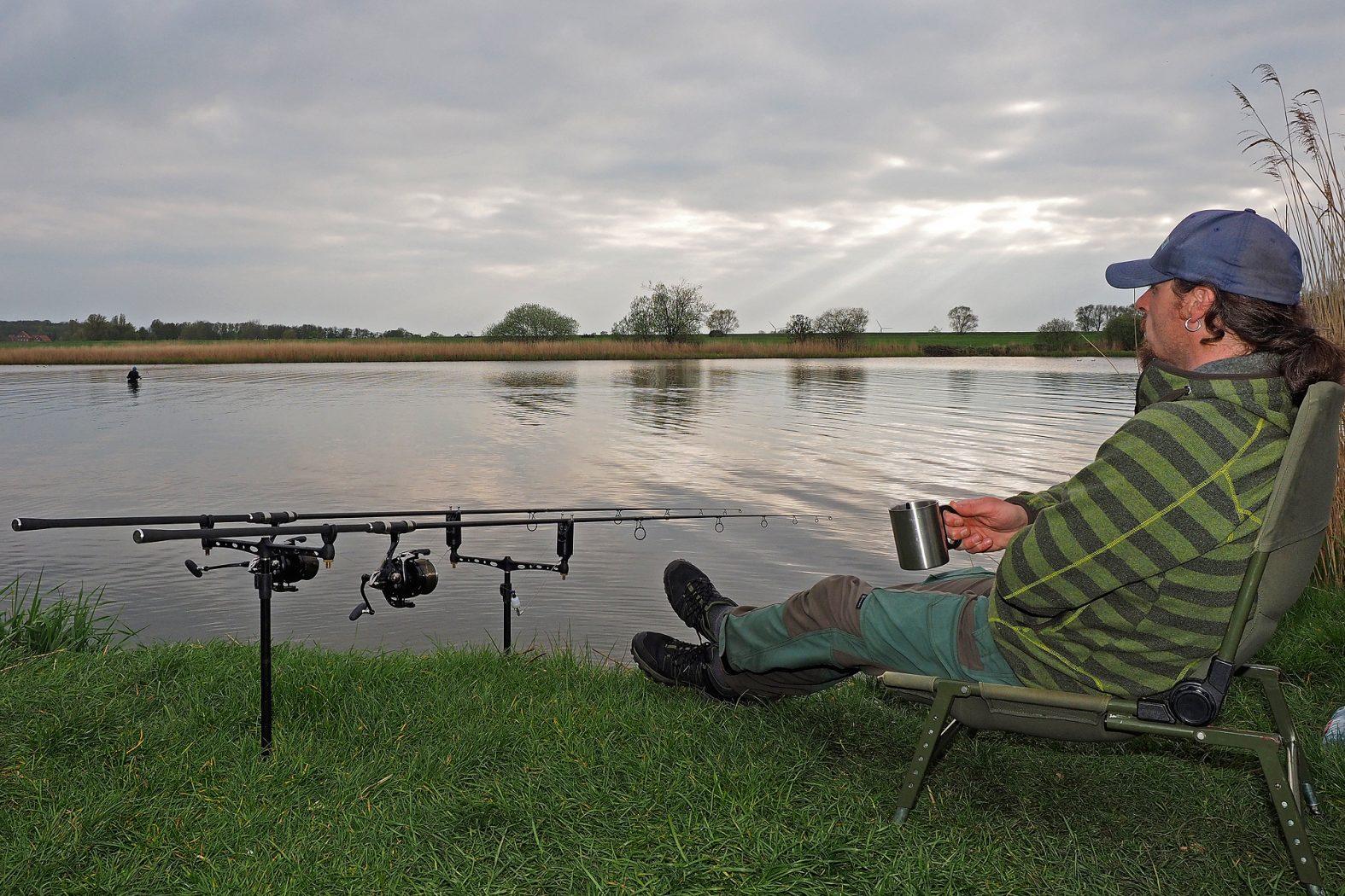 Anfüttern beim Karpfen angeln