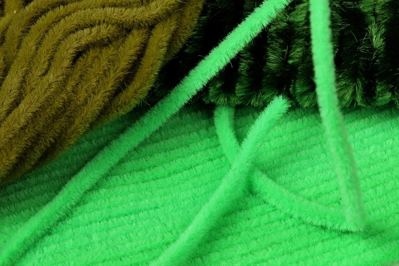 Bindematerial für Green Weenie Nymphe