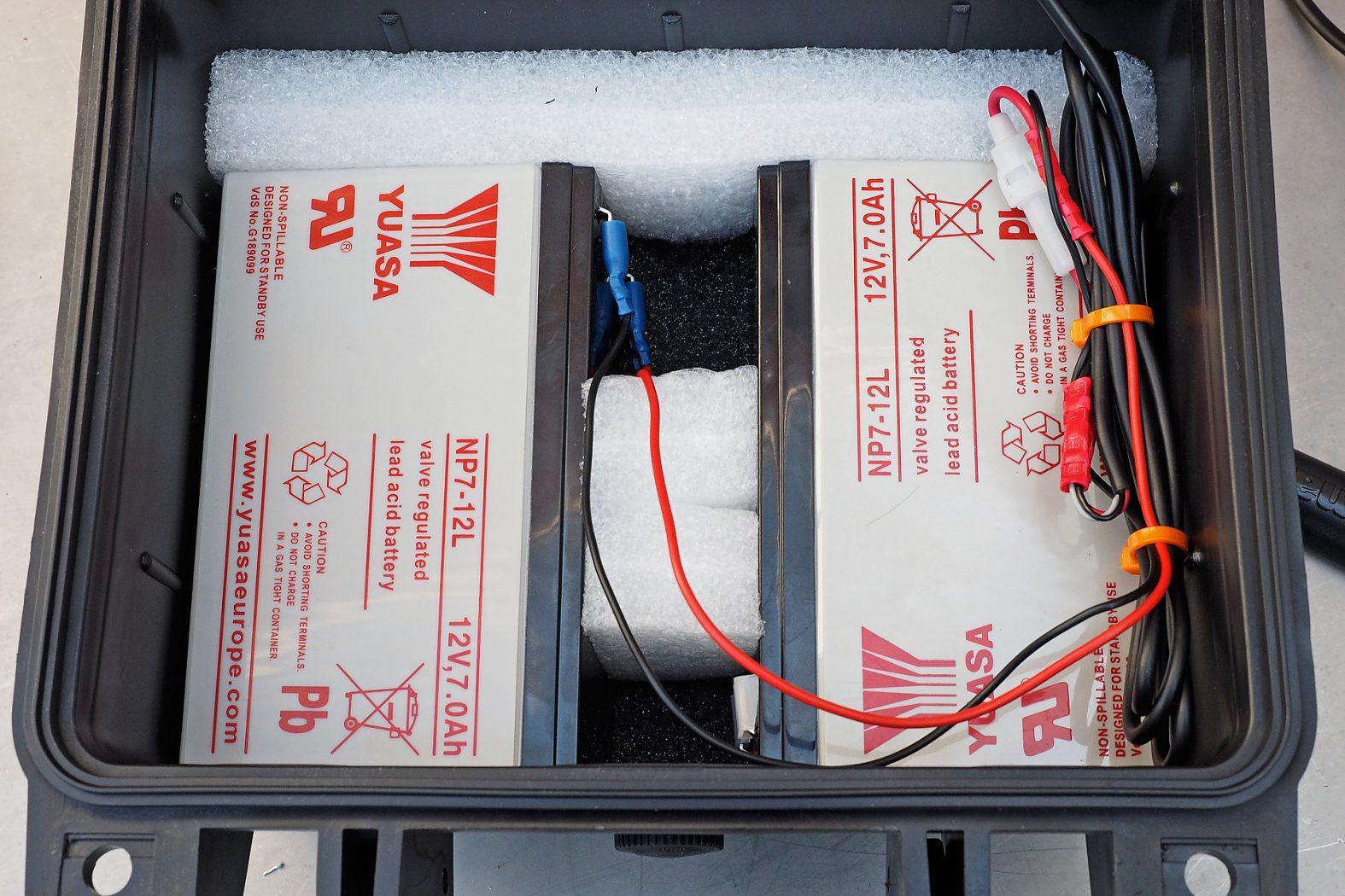 Stromanschluss für Echolot