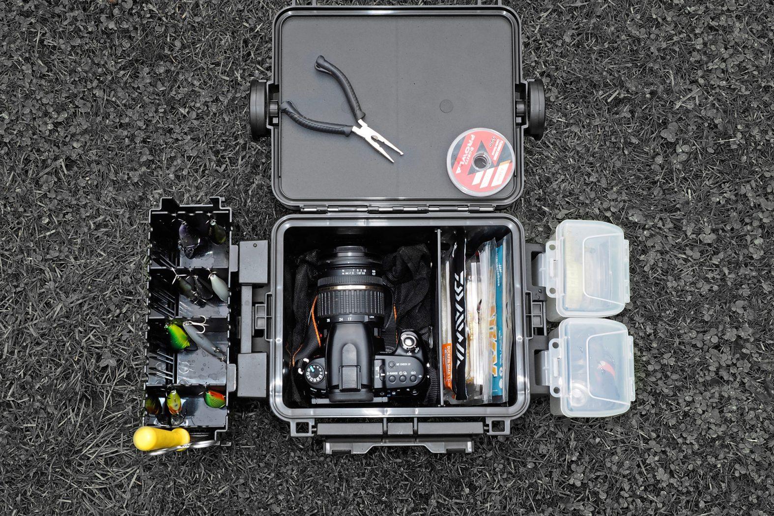 Gerätekisten für Angler