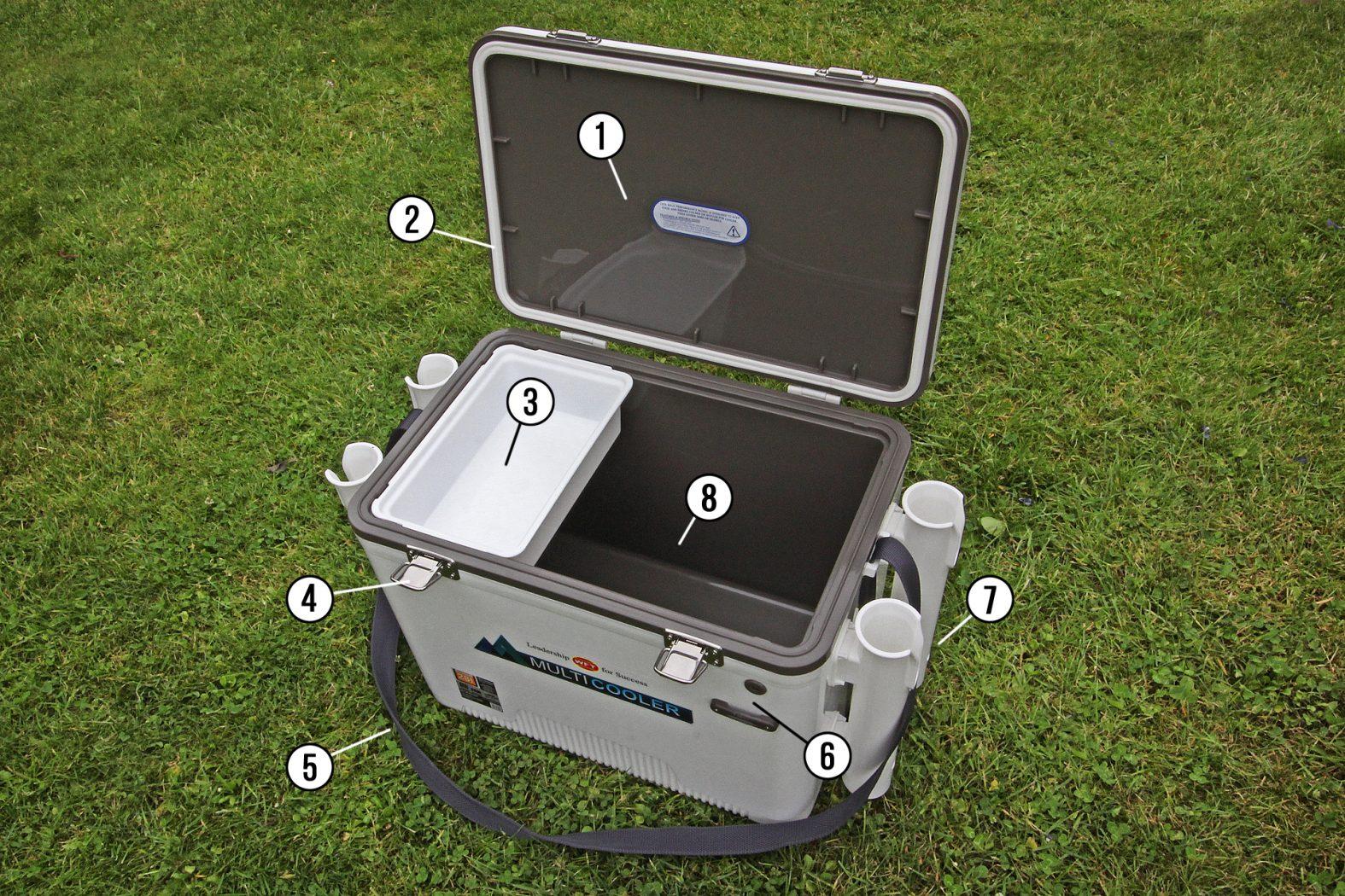 WFT Multicooler Kühlbox für Angler