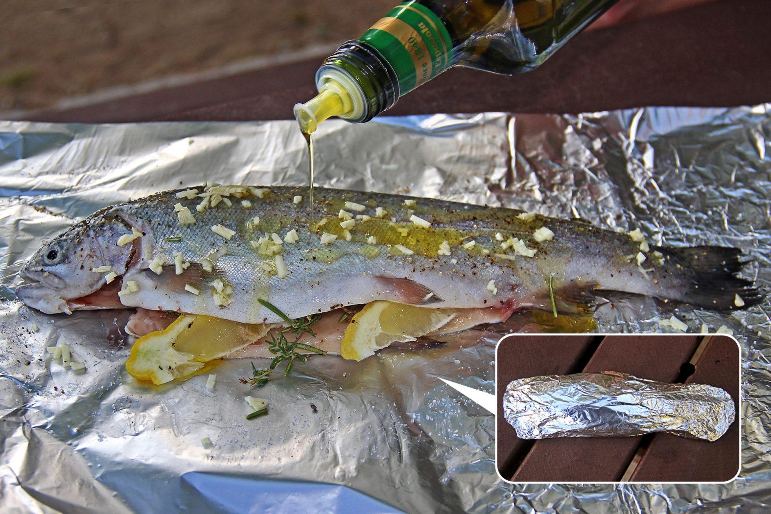Gegrillter Fisch Dr Catch Besser Angeln
