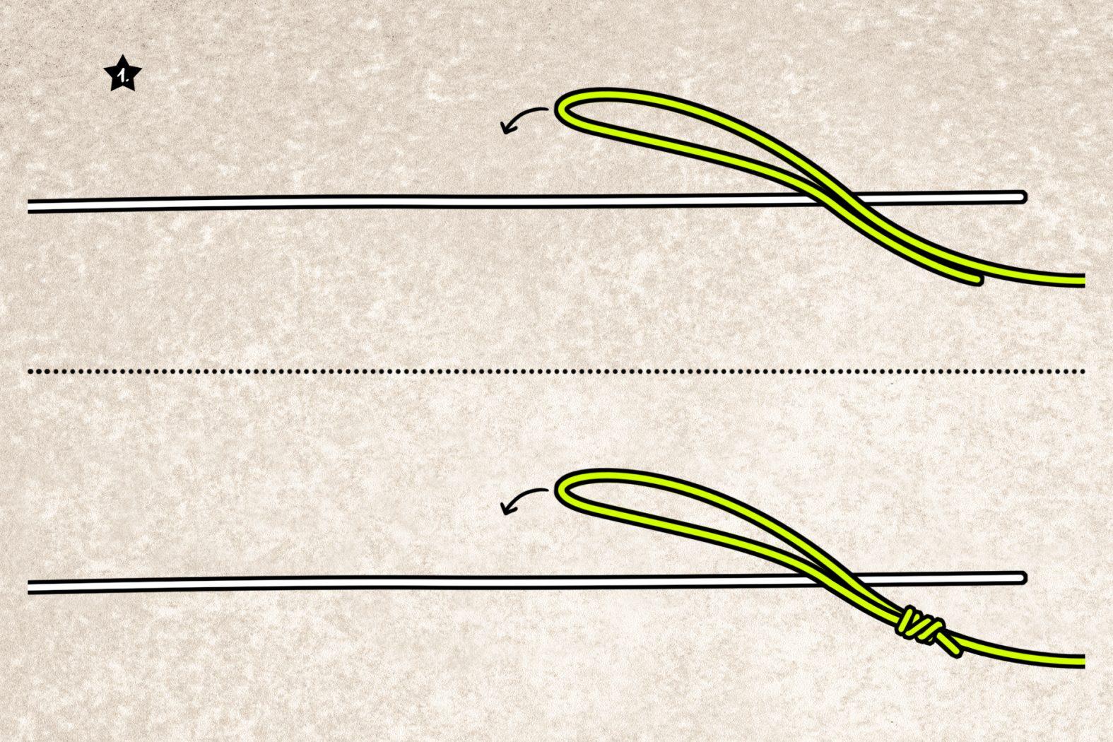 Anleitung Yucatan-Knoten