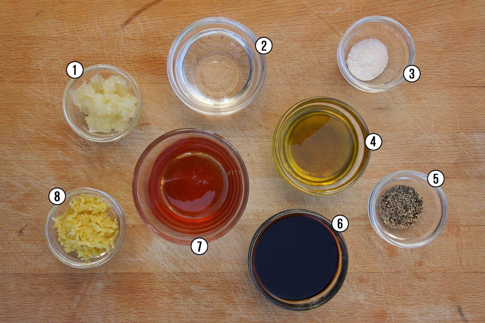Rezept für Marinade zum Lachs grillen