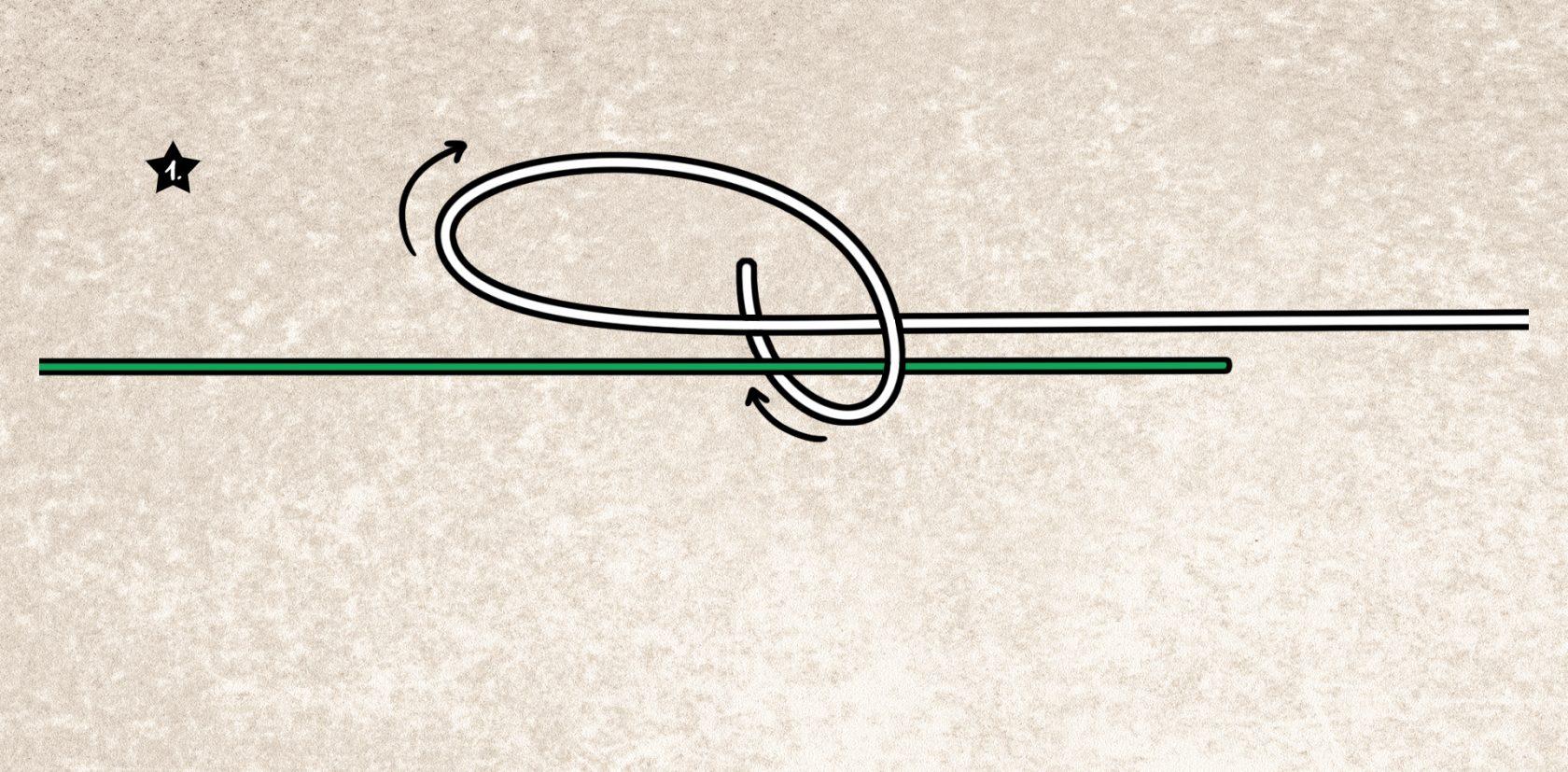 Stren-Knoten Bindeanleitung
