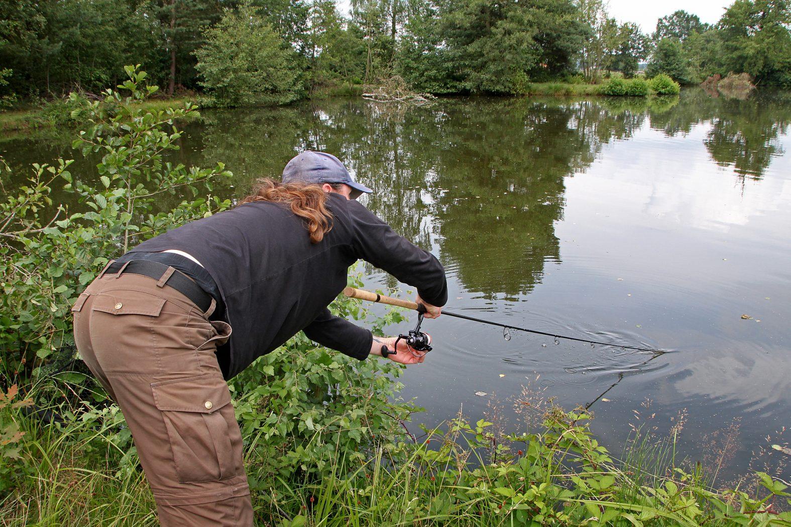 Mit der Posenrute auf Karpfen angeln