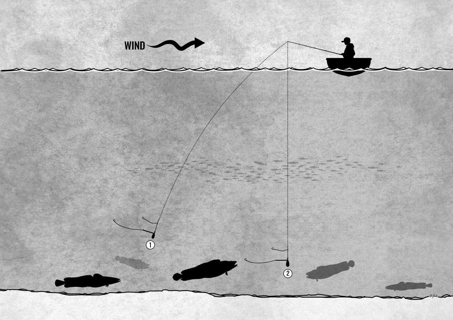 Naturköderfischen in Norwegen