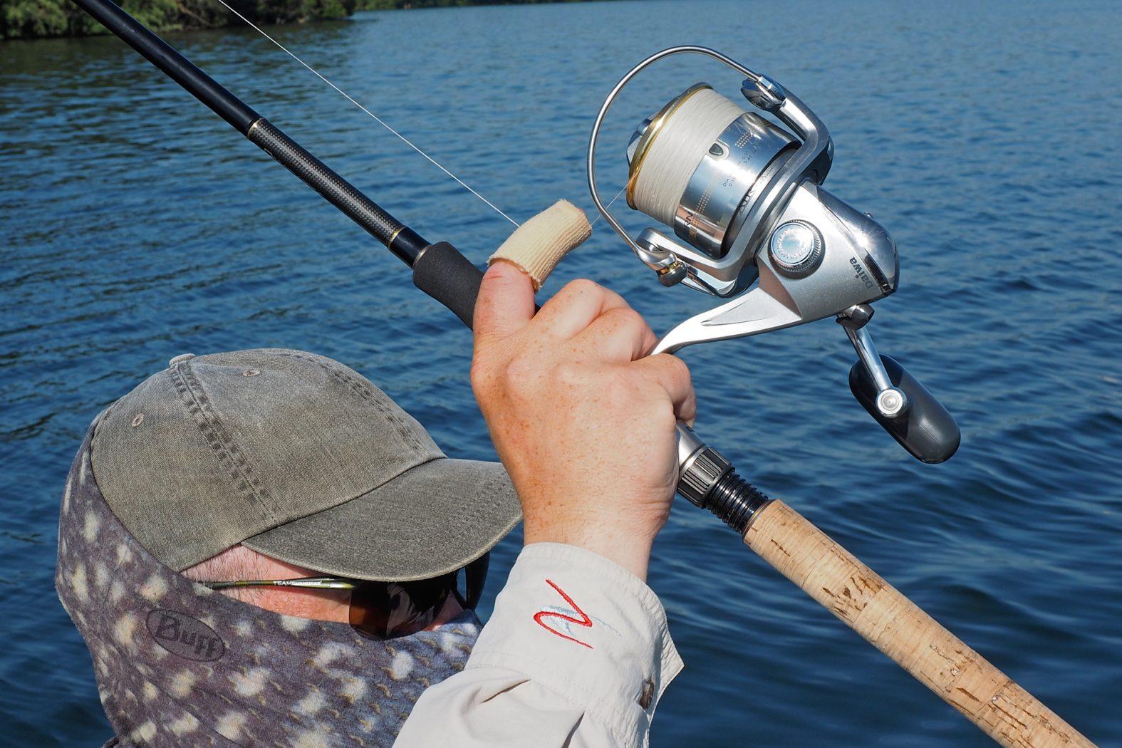 Fingerschutz zum Spinnfischen