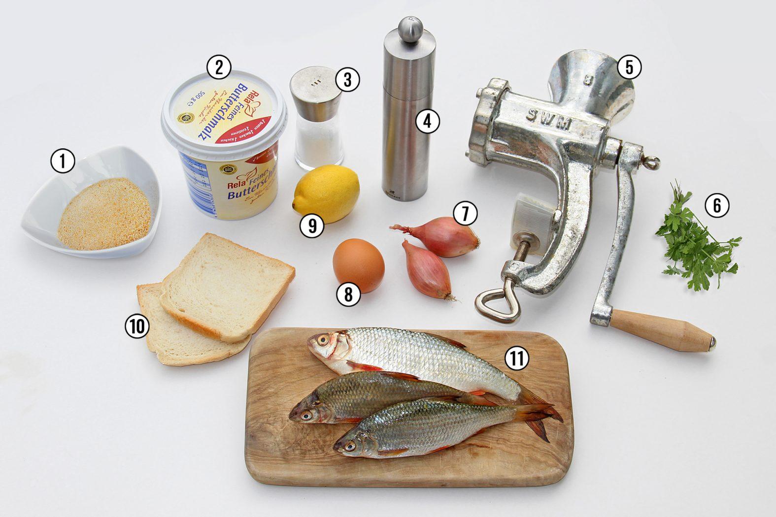Fischbouletten Rezept